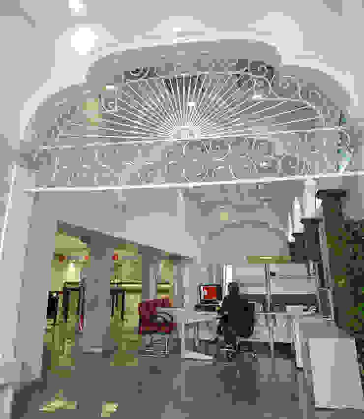Sucursal Bancaria en Ciudad Guzmán de Mezzanine Arquitectura Colonial
