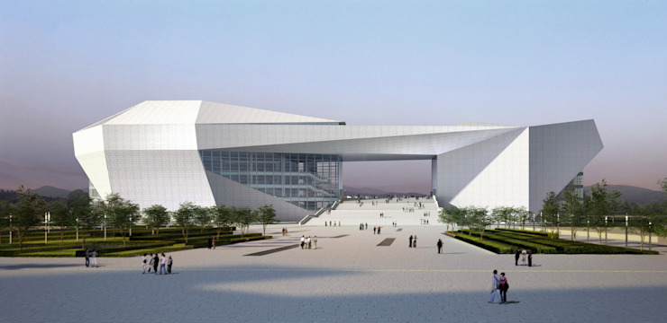 Grand Théâtre (Opéra) du Shanxi par Arte Charpentier