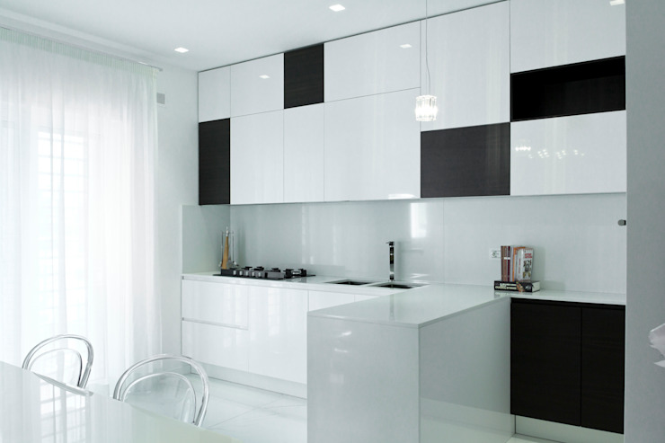 Modern Kitchen by db_studio| Architetto Barbara De Liso Modern