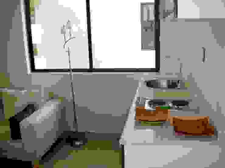 Departamentos Narvarte Casas modernas de Proyectto Mc2 S. A. de C. V. Moderno