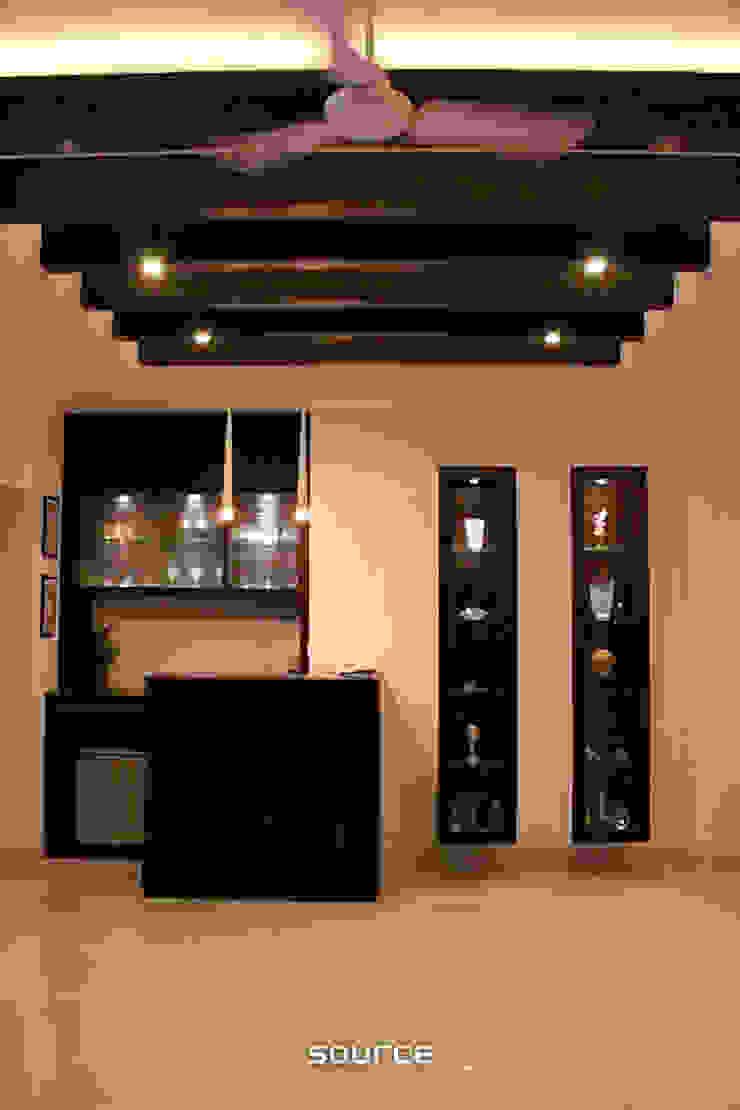 Bar/Den: modern  by Source Architecture, Modern