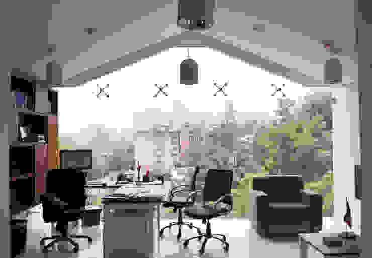 CIDE CAF de Arquitectonica P+E Moderno