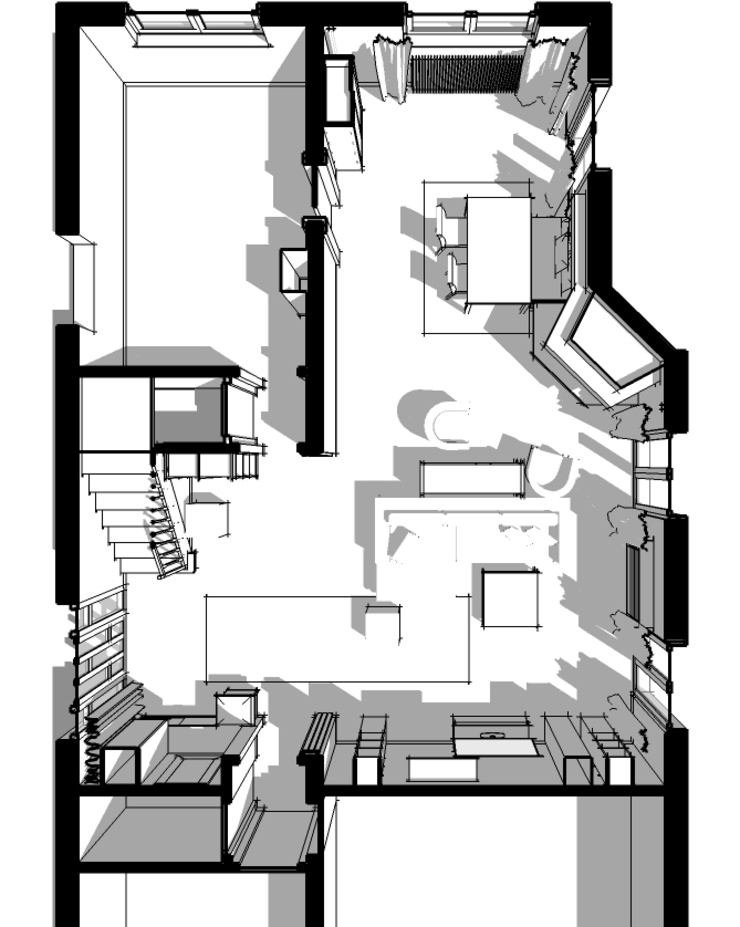 Maison à Illkirch Maisons modernes par Denitsa Hristova Moderne