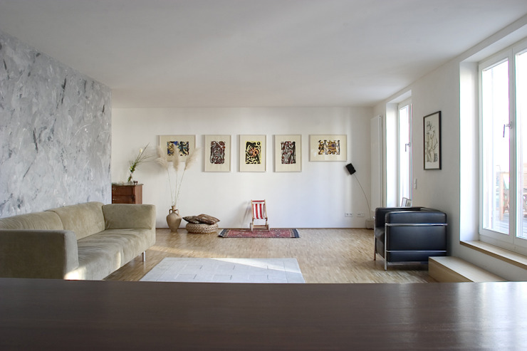 Living Room by THOMAS GRÜNINGER ARCHITEKTEN BDA
