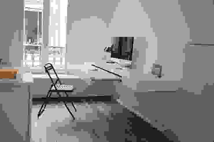 Bureau / Chambre d'ami / salon TV Galaktik Maisons modernes