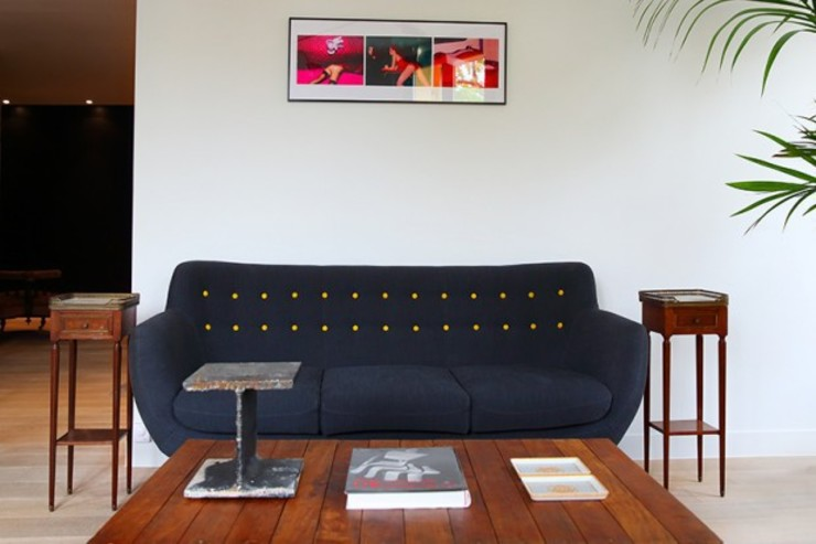 Canapé salon Maisons modernes par Galaktik Moderne