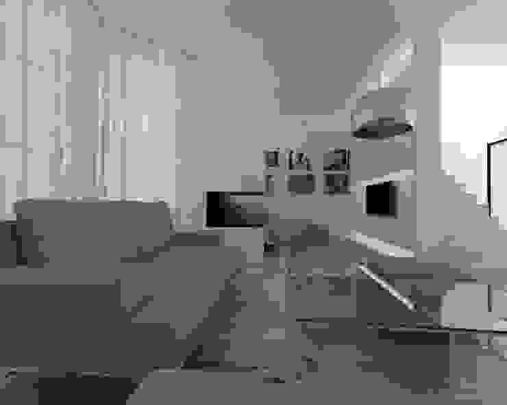 Livingroom Case moderne di ZO-loft architecture & design Moderno