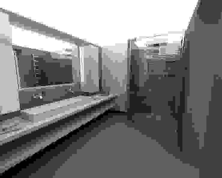 bathroom Case moderne di ZO-loft architecture & design Moderno