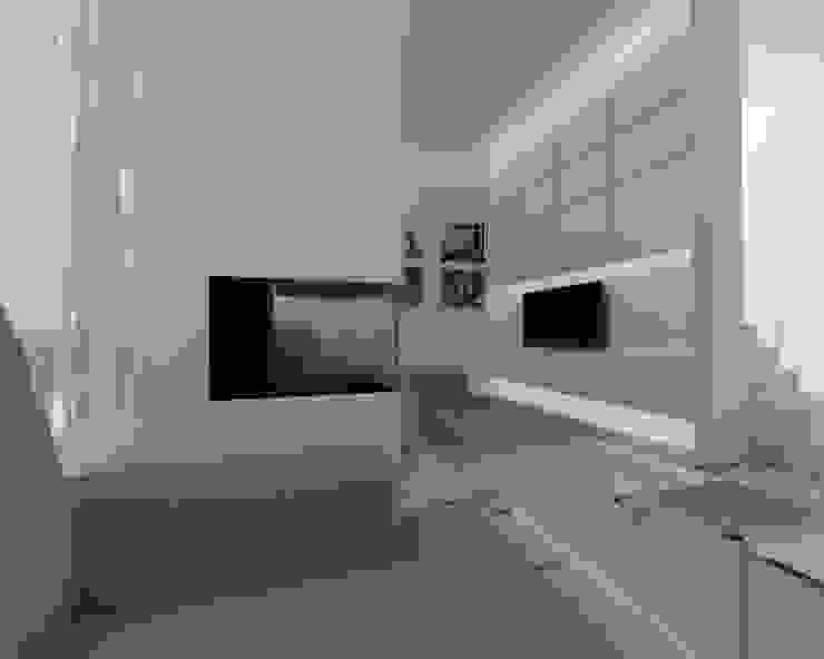 living room Case moderne di ZO-loft architecture & design Moderno