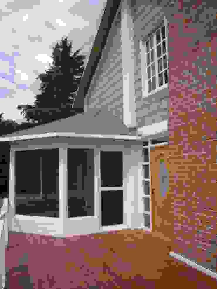 Solar Y Porche Casas rústicas de IDEA Studio Arquitectura Rústico