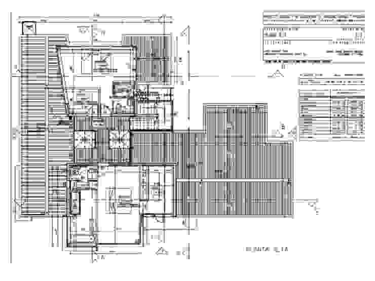 casa moderna en Boadilla sostenible de Miguel Angel Blanco Callejpo Arquitecto Moderno
