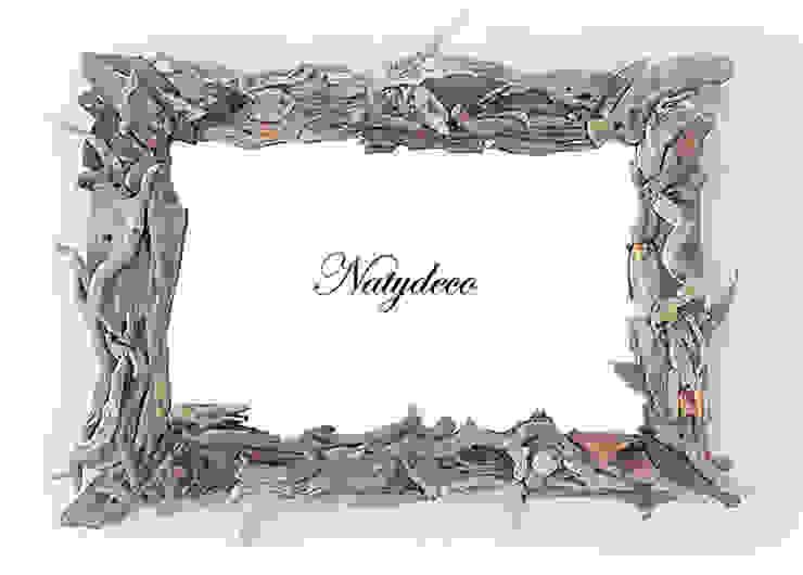 miroir en bois flotté par Natydeco Éclectique