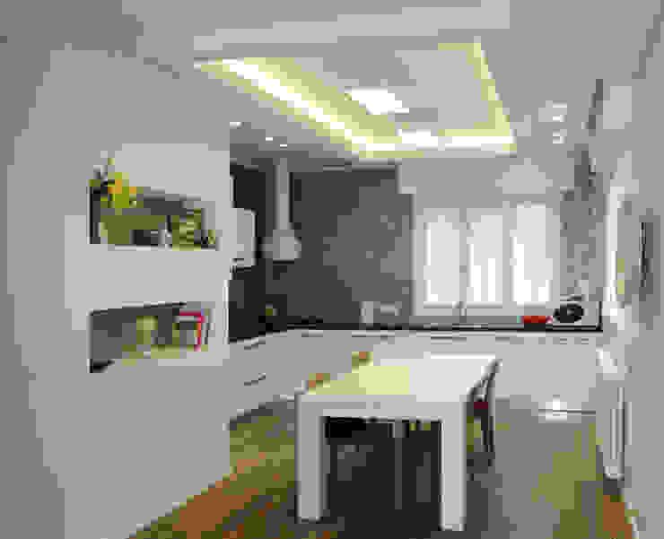 Ristrutturazione di appartamento a Marebello di Rimini di Studio Skyline Moderno