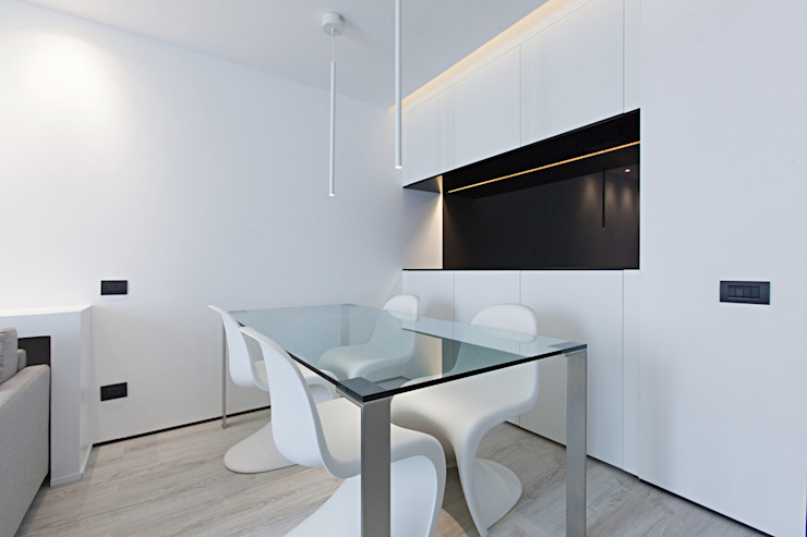 Salas de jantar modernas por Arch. Andrea Pella Moderno