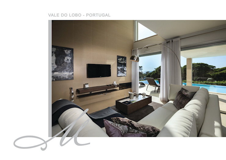 Holiday House in Vale do Lobo Espaços por Maria Raposo Interior Design