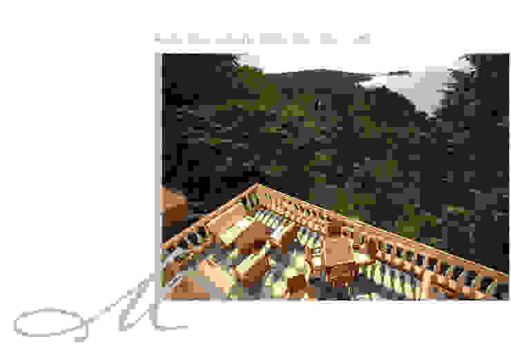Roça Belo Monte Corredores, halls e escadas clássicos por Maria Raposo Interior Design Clássico