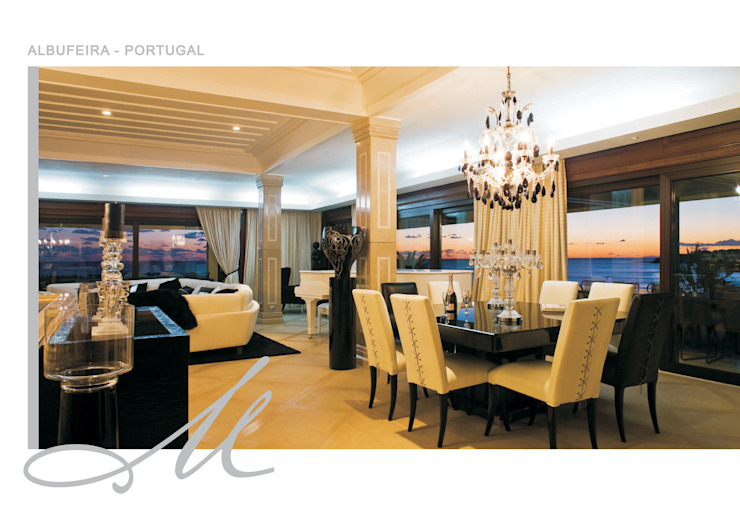 Albufeira- Portugal por Maria Raposo Interior Design