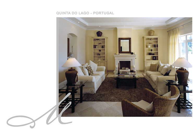 House in Quinta do Lago Espaços por Maria Raposo Interior Design