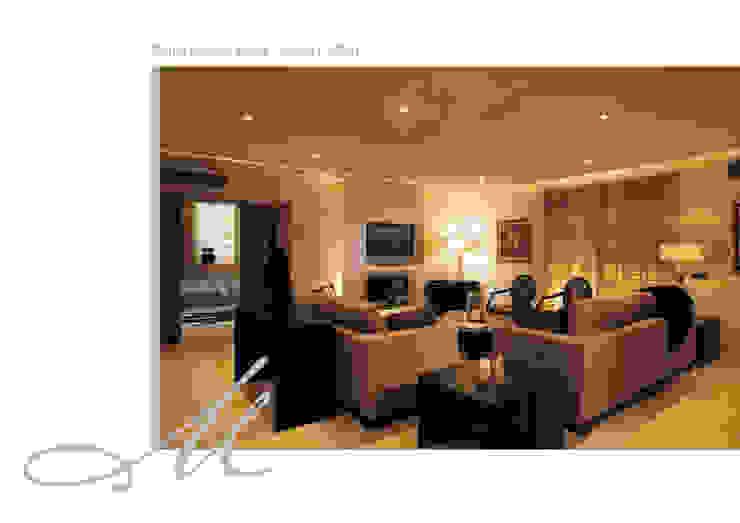 House in Quinta do Mar Espaços por Maria Raposo Interior Design