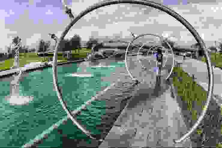 Paseo Santa Lucia Jardines modernos de Urban Landscape Moderno