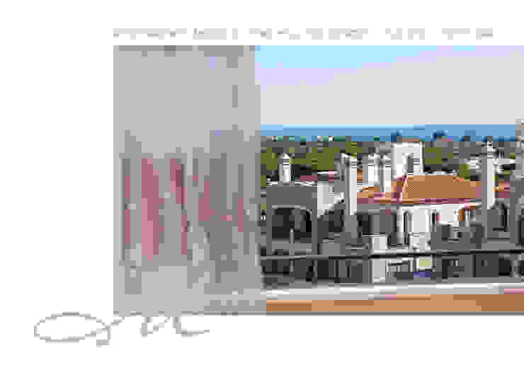 Model Apartment – Pine Hill Residences Espaços por Maria Raposo Interior Design