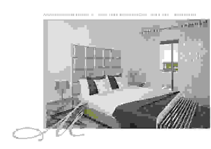 Model Apartment - Pine Hill Residences Espaços por Maria Raposo Interior Design