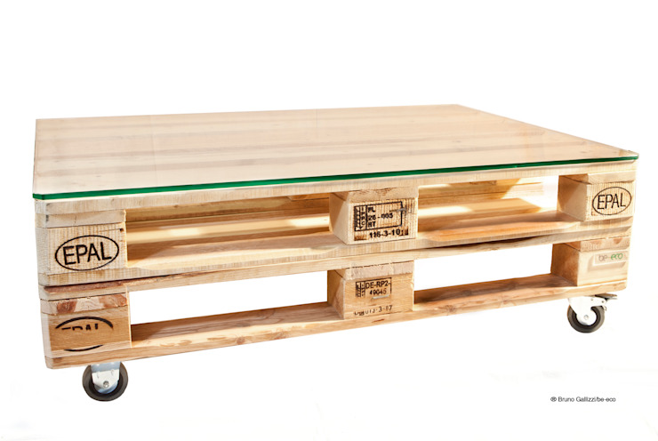 Tavolino Basso:  in stile industriale di be-eco for sustainable costruction, Industrial