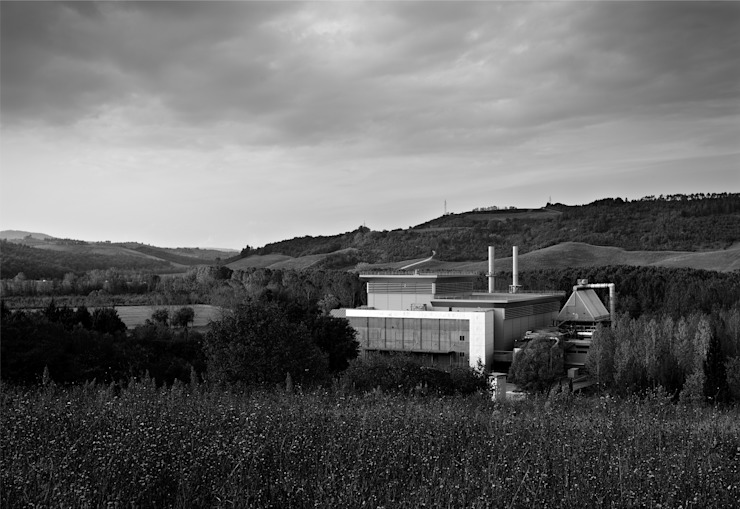 TERMOVALORIZZATORE DI POGGIBONSI – SIENA:  in stile industriale di Studio Nepi Terrosi Associati, Industrial