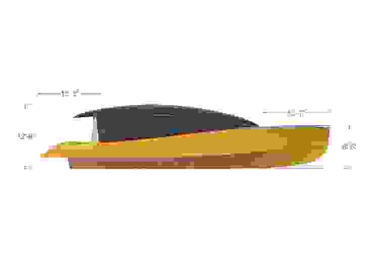 duk yacht Yacht & Jet in stile minimalista di studiooxi Minimalista