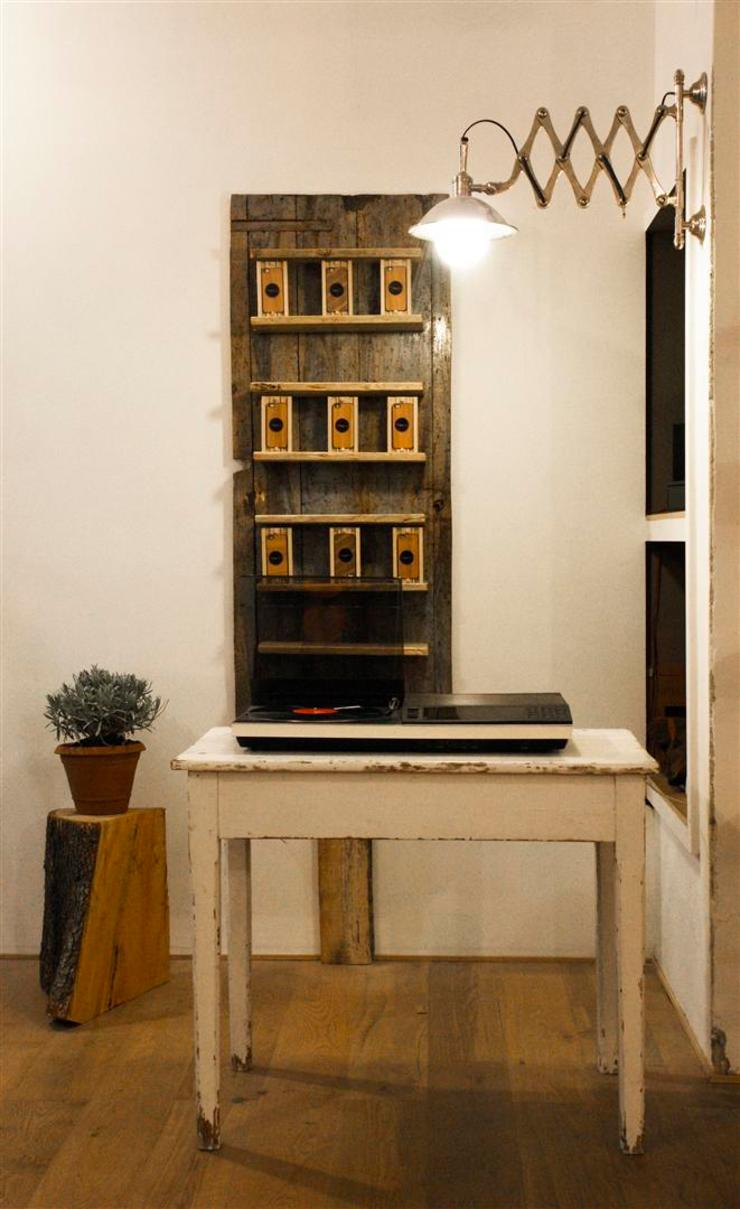 Industrial style offices & stores by studiooxi Industrial