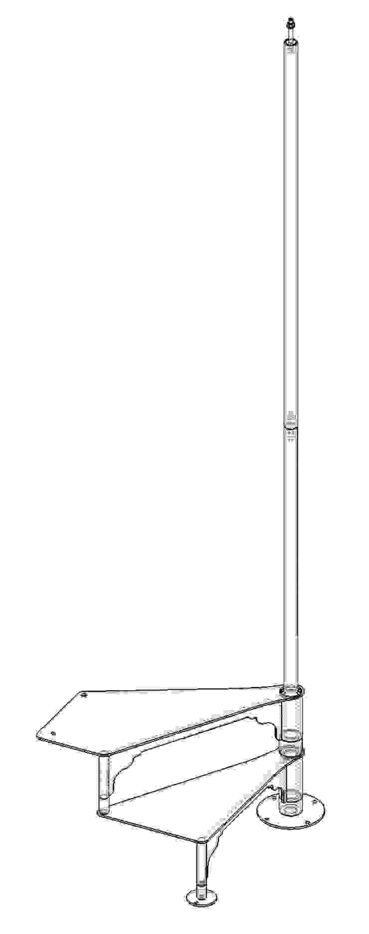 Chidea pianta quadrata:  in stile industriale di h-project.it, Industrial