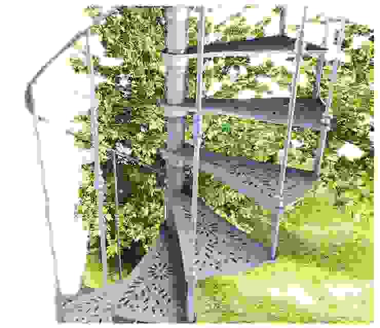 Chidea pianta tonda:  in stile industriale di h-project.it, Industrial