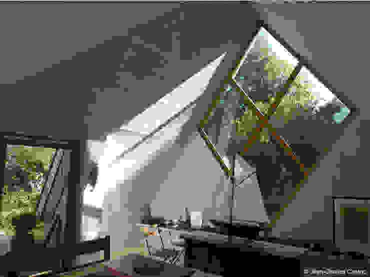 losange pignon Sud Maisons par Jean-Charles CASTRIC - architecte D.P.L.G.