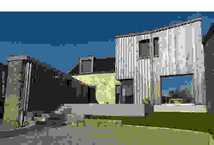 vue Sud Maisons par Jean-Charles CASTRIC - architecte D.P.L.G.