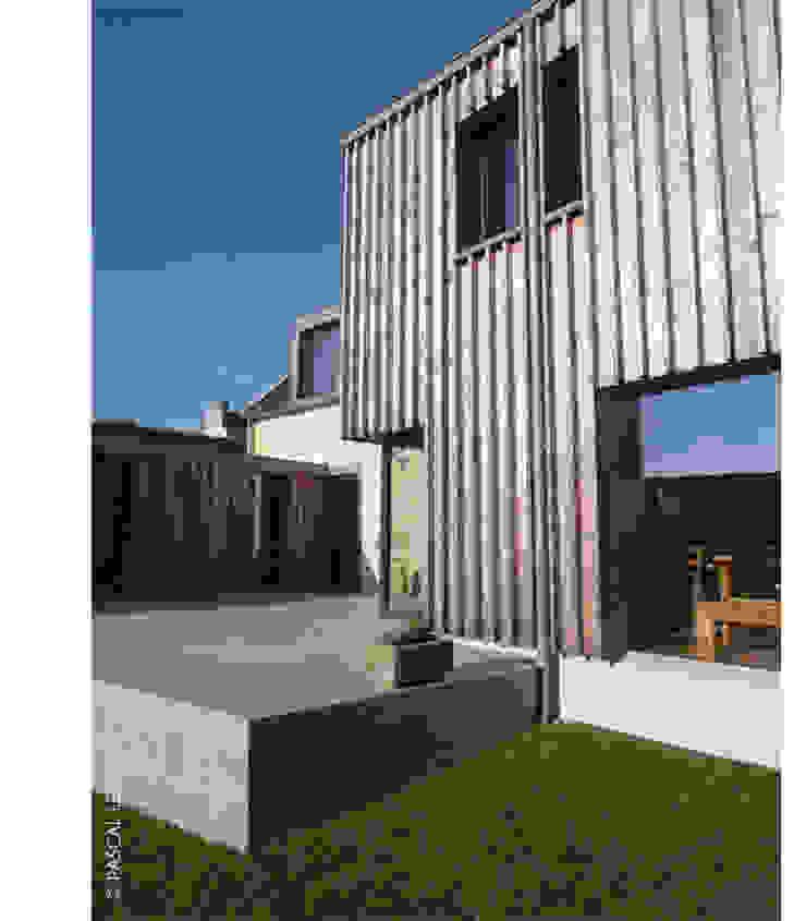 pignon Sud Maisons par Jean-Charles CASTRIC - architecte D.P.L.G.