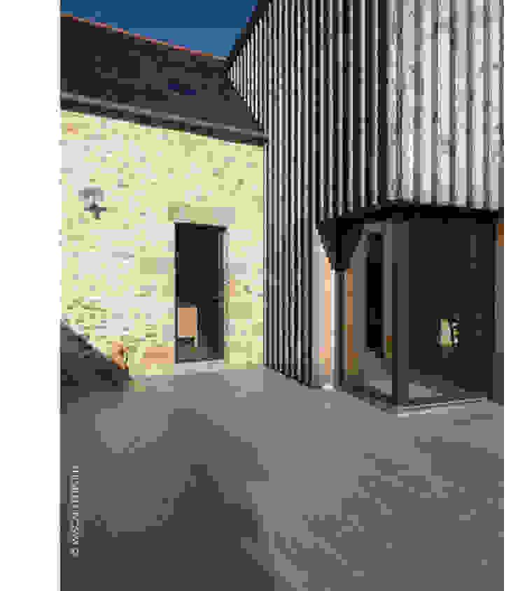 entrée Sud Maisons par Jean-Charles CASTRIC - architecte D.P.L.G.