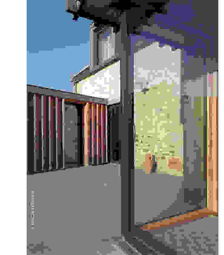 terrasse Sud Maisons par Jean-Charles CASTRIC - architecte D.P.L.G.