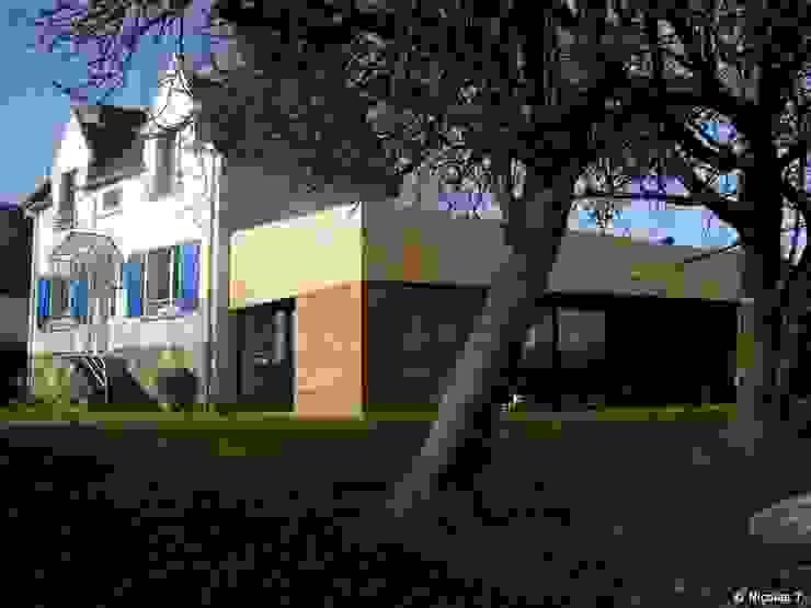 Case di Jean-Charles CASTRIC - architecte D.P.L.G.