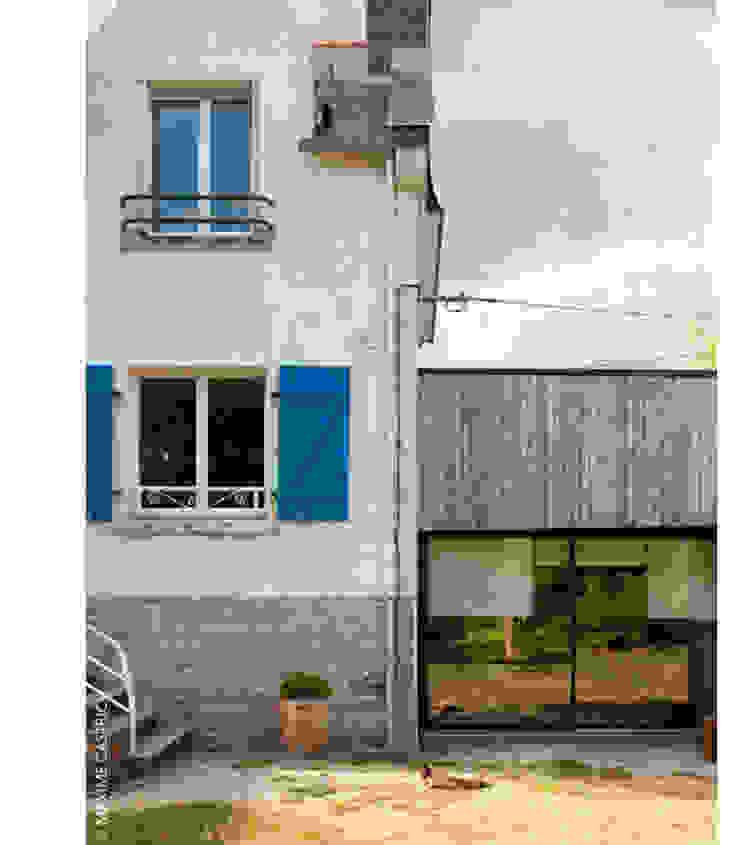 existant / extension Maisons par Jean-Charles CASTRIC - architecte D.P.L.G.