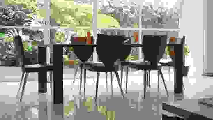 PALMAS 07: Comedores de estilo  por NIVEL TRES ARQUITECTURA, Moderno