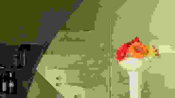 PALMAS 03 Pasillos, vestíbulos y escaleras modernos de NIVEL TRES ARQUITECTURA Moderno