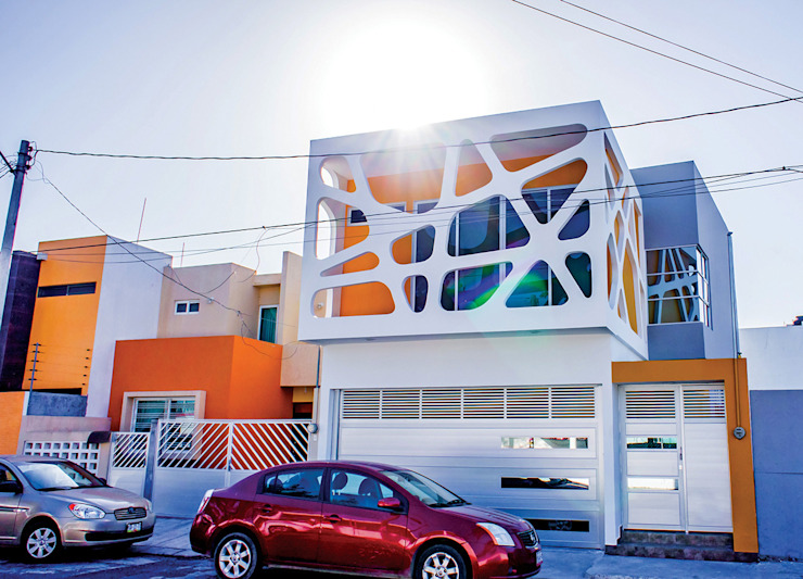 Vista desde la calle Casas modernas de Gerardo ars arquitectura Moderno