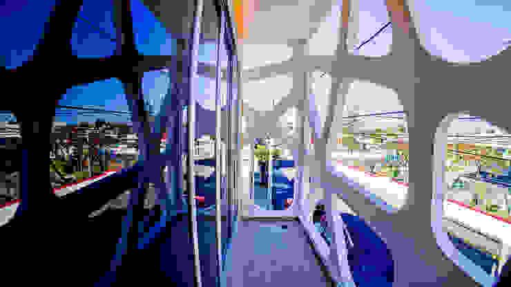Balcon Frontal Balcones y terrazas modernos: Ideas, imágenes y decoración de Gerardo ars arquitectura Moderno
