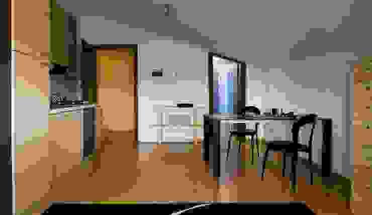 cucina -soggiorno dopo di Mariagrazia Guarini Home Stager & interior Design