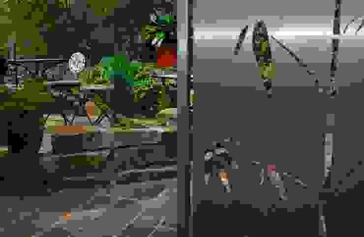 Stainless Steel Design Jardines de estilo moderno de Edelstahl Atelier Crouse - individuelle Gartentore Moderno