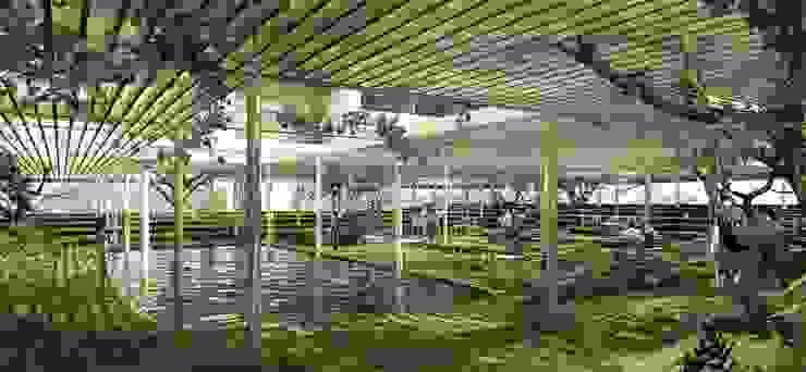 Espacio interior del Atrium de City Ink Design