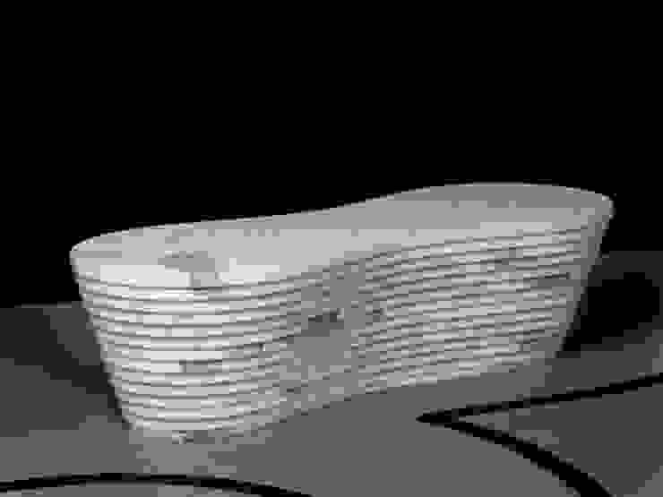 Land_marble bench di PAOLO ULIAN & MORENO RATTI