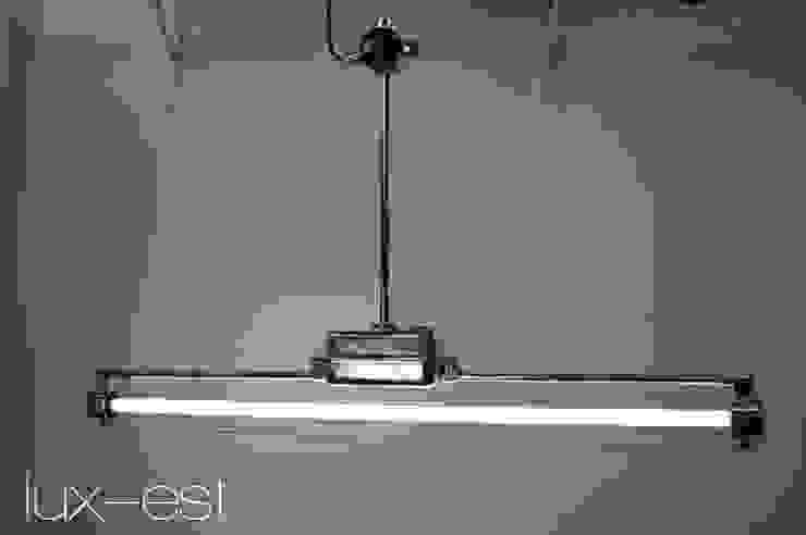"""<q class=""""-first"""">DESSAU ICE</q> Industriedesign Neonlampe Industrielampe Hochglanz von Lux-Est Minimalistisch"""