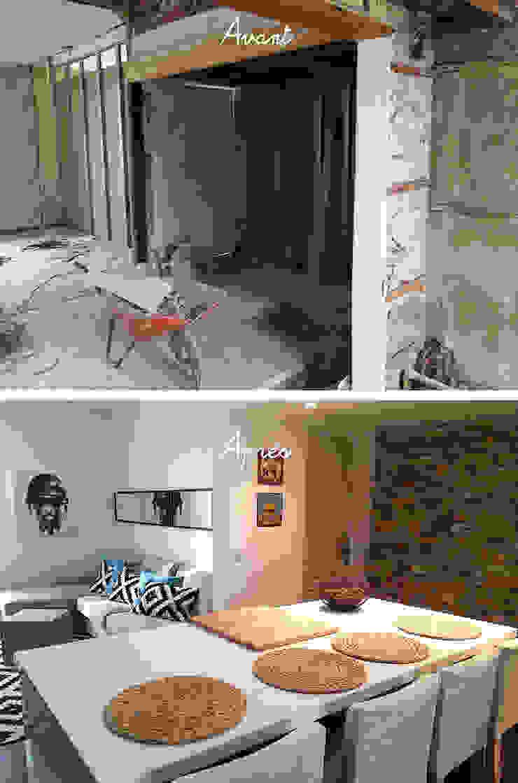 Rénovation d'une maison de ville AVANT-APRES. par La maison et ses envies Moderne