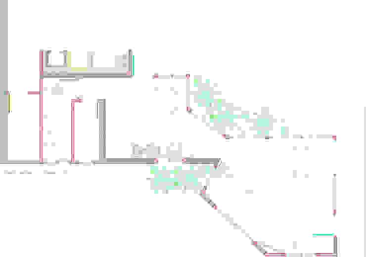 pianta a quota +1.20 di 'ArchIM&DE Project' - Arch. Vincenzo Di Natale - Moderno